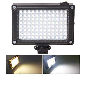 on camera led video light