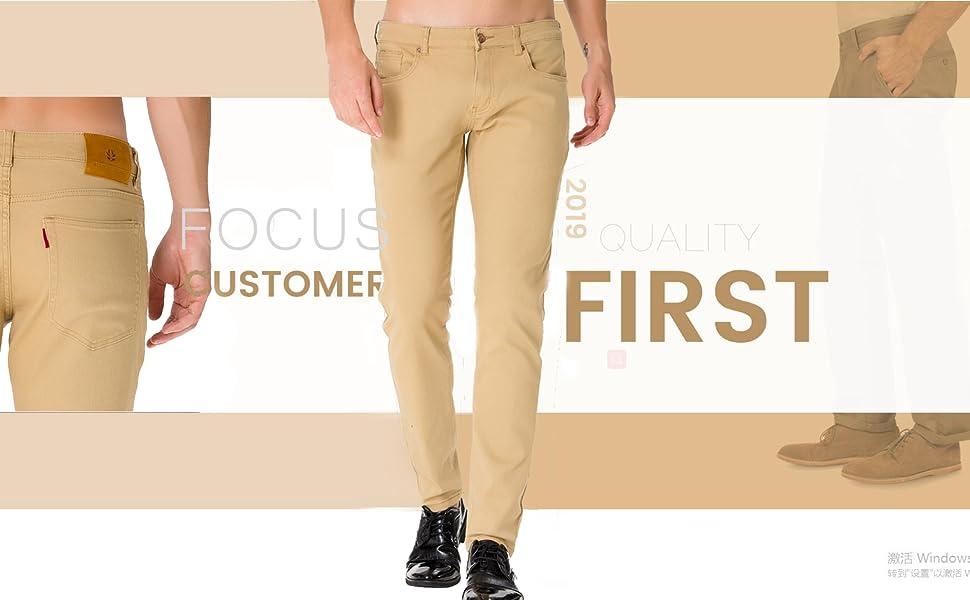 white pants for men