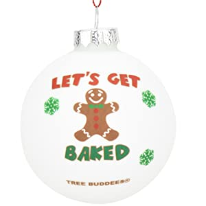 Naughty Christmas Ornaments Wood Ornament Gingerbread Gift Funny Holiday Gift White Elephant  Gift Funny Christmas Ornament