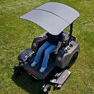 Amazon.com: Swisher SS4444 femco tufftop Sunshade Canopy ...