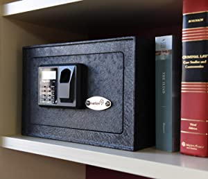 biometric fingerprint safe is the ultimate safeguard when it comes to protecting valuables the heavyduty lock box features 2mm steel