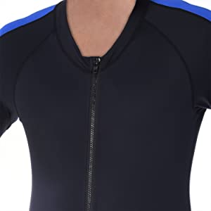 Swimming /& Water Sports Ivation Mens Full Body Wetsuit Sport Skin for Running Exercising Diving Snorkeling