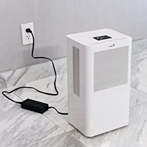 Amazon Com Ivation Small Area Compact Dehumidifier With