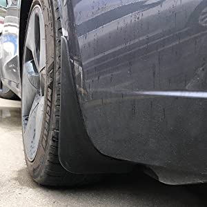 tesla model 3 mud flaps