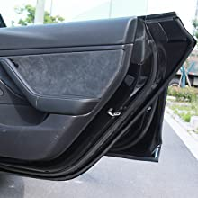 BASENOR Tesla Model 3 Door Seal Kit Soundproof Rubber Weather Draft Seal  Strip Wind Noise Reduction Kit