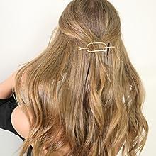 long metal hair clips