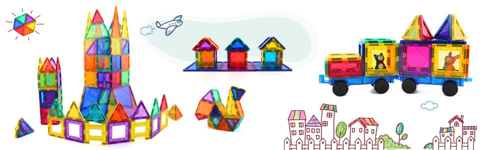 Children Hub Magnetic Building Blocks