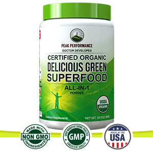 Amazon.com: Polvo orgánico de alto rendimiento de Superfood ...