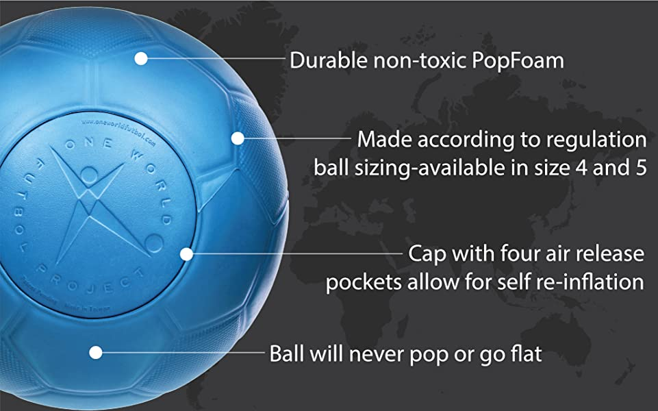 Amazon.com : One World Play Project Indestructible Soccer Ball ...