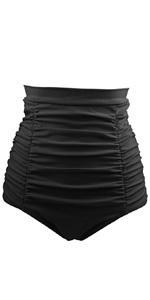 Retro High Waisted Bikini Bottom