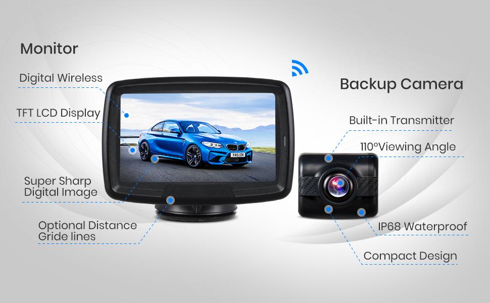 Backup Camera BW4