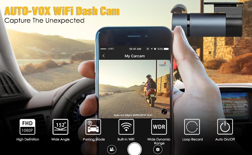 Wifi dash cam