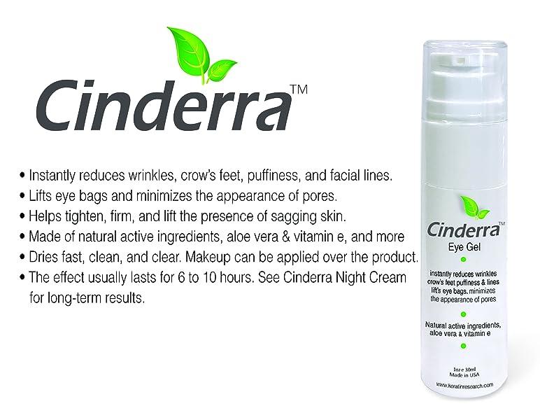 Amazon com: Cinderra Eye Gel 30ml instantly reduces wrinkles crow's