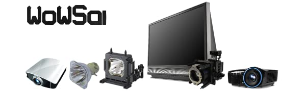 WOWSAI TV Replacement Lamp in Housing for Sony KDF-E42A10 KDF-42E2000 KDF-46E2000 Televisions KDF-E42A11