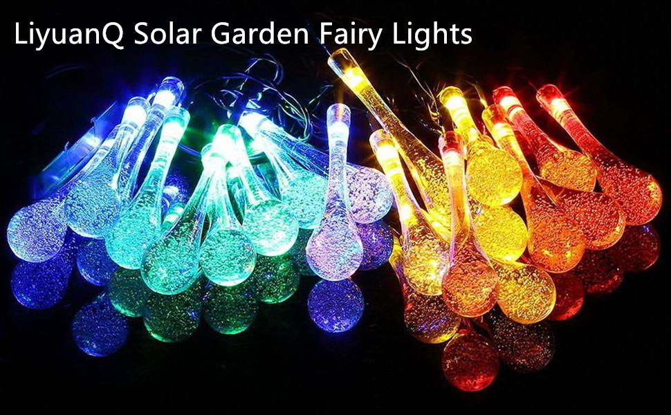 solar garden fairy lights