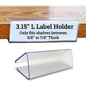 Book Shelf Label Holder