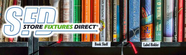 Store Fixtures Direct Wood Shelf Label Holder