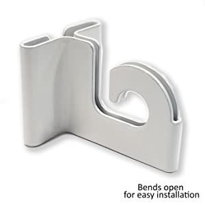 Hinged Ceiling Tile Grid Track Snap Hook Clip Retail Store Supply