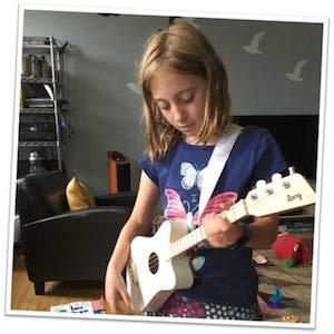 Loog, Mini Guitar for Children, Acoustic Guitar, Guitar
