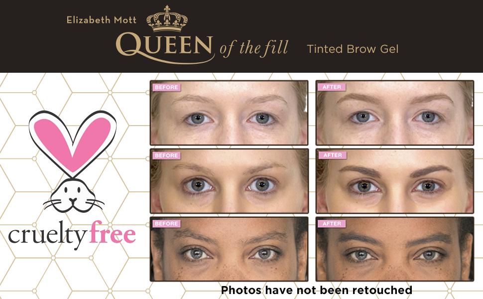 Amazon Queen Of The Fill Tinted Eyebrow Makeup Gel Cruelty