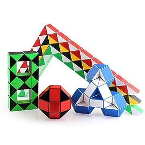 rubiks snake cube