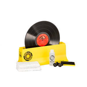 complete spin-clean record washer kit