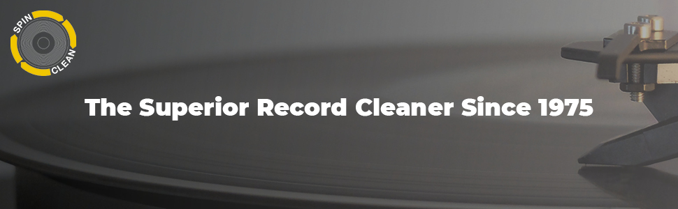 The Superior Record Cleaner - Spin-clean