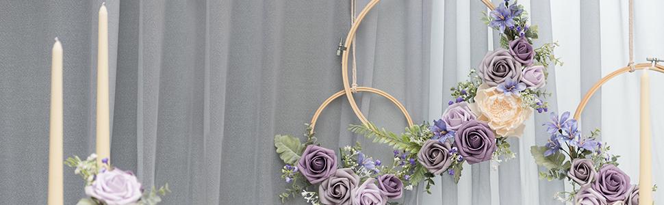 hoop wreath set of 3