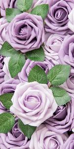 mixed purple