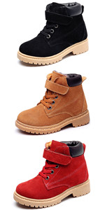 Boy's Girl's Outdoor Strap Winter Boots