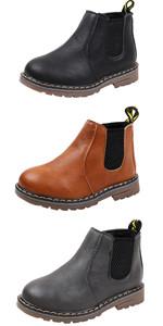 Boy's Girl's Waterproof Ankle Winter Boots