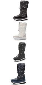 Women's Waterproof Fur Lined Snow Boots