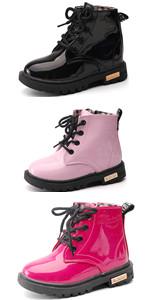 Boy's Girl's Waterproof Ankle Boots