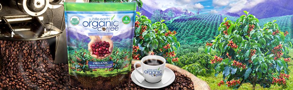 Subtle Earth Organic Decaf Coffee