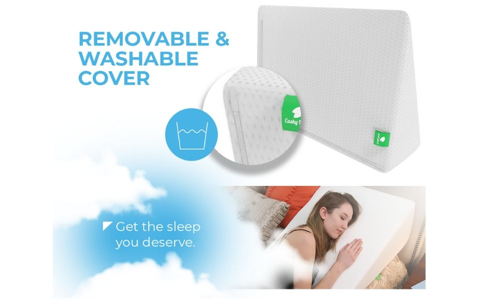 Sleep Apnea Relief - Bed Wedge Pillow