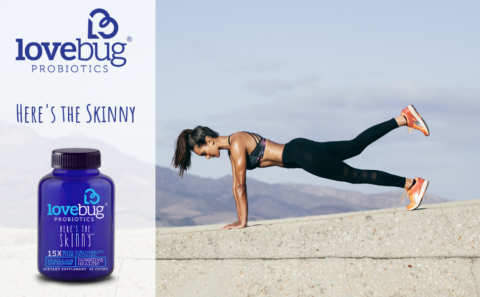 Here's the Skinny, LoveBug Probiotics, Digestion, Digestive Health, Metabolism
