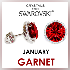 swarovski stud earrings january birthstone earrings fashion jewelry sets birthday gifts for women