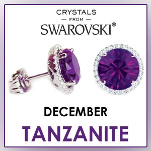 swarovski stud earrings december birthstone earrings fashion jewelry sets birthday gifts for women