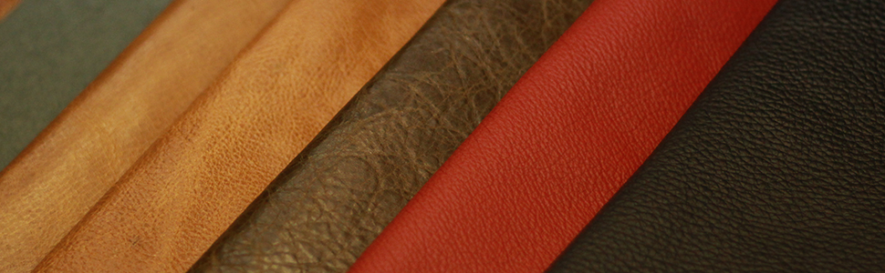 Natural Top Grain Genuine Leather Real