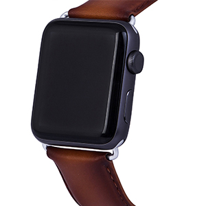 Natural Leather Apple Watch Straps