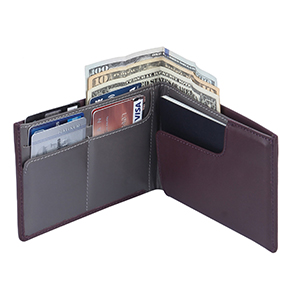 Slim Leather Passport and Travel Wallet