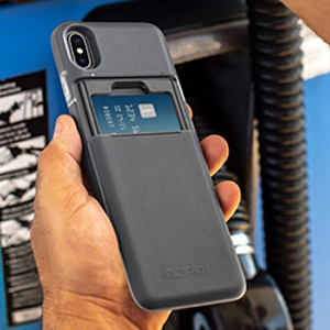 newest 773fc 7e6b4 Incipio Stashback Wallet Case for iPhone Xs Max (6.5