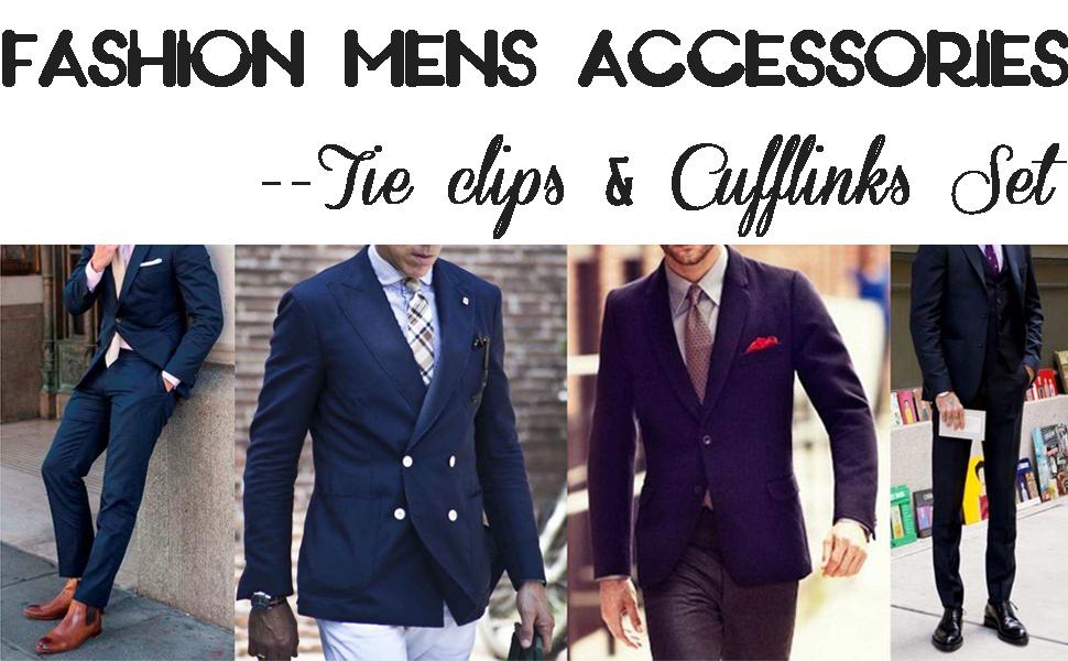 Tie Cilps and Cufflinks Sets