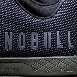 Reflective NOBULL logo for visibility when you need it most.