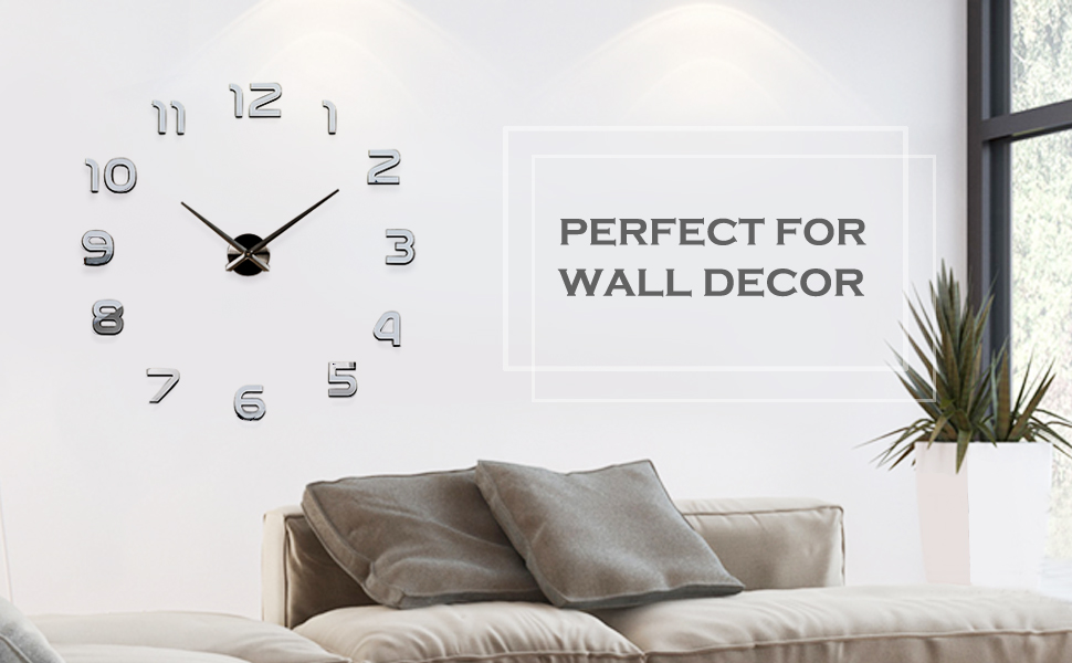 ... Living Room Home Office Decoration. Home Is Not The Container Of Dull  And Dry , But The Best Place To Enjoy The Life. This Simple, Stylish Large  Wall ... Part 96