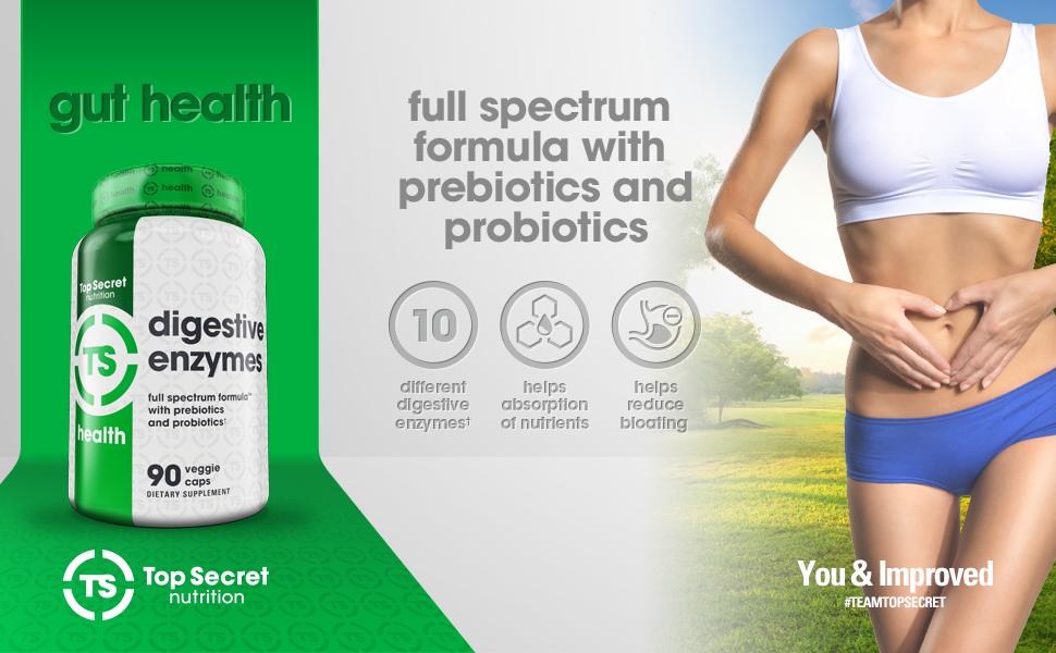 Amazon.com: parte superior Secret Nutrición las enzimas ...