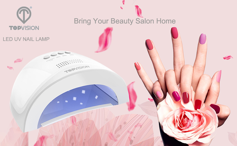 TOPVISION Nail Dryer - Giving You A Professional Manicurist At Home!