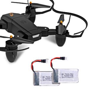 drone that with 2 batteries