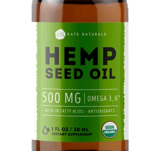 extra strength organic hemp oil seed
