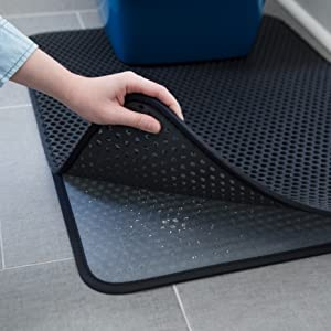 Why iPrimio Cat Litter Trapper? Our litter box mat ... & Amazon.com : Jumbo Size Cat Litter Trapper by iPrimio - Litter Mat ... Aboutintivar.Com